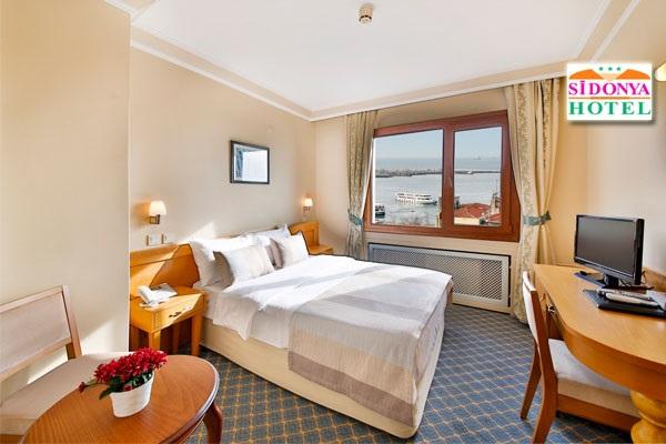 Kadıköy Sidonya Hotel'de kahvaltı dahil çift kişilik 1 gece konaklama 330 TL yerine 179 TL! Fırsatın geçerlilik tarihi için DETAYLAR bölümünü inceleyiniz.