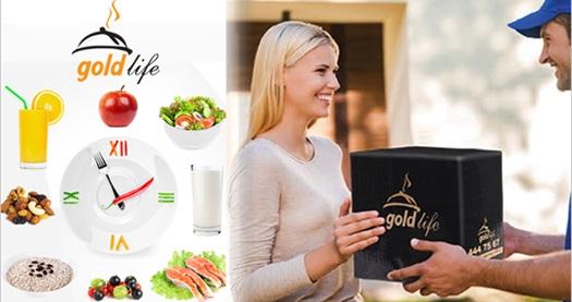 Goldlife kişiye özel 1 aylık diyet yemeği paketlerinde %20 indirim sağlayan çek 1 TL! Fırsatın geçerlilik tarihi için DETAYLAR bölümünü inceleyiniz.