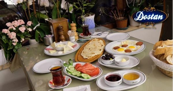Süleymaniye Dostan Mantı Evi'nde enfes lezzetler eşliğinde kahvaltı keyfi! Fırsatın geçerlilik tarihi için DETAYLAR bölümünü inceleyiniz.