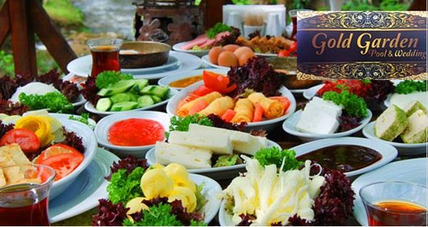 Gölbaşı Gold & Garden'dan nefis serpme kahvaltı keyfi 40 TL yerine 29,90 TL! Fırsatın geçerlilik tarihi için DETAYLAR bölümünü inceleyiniz.