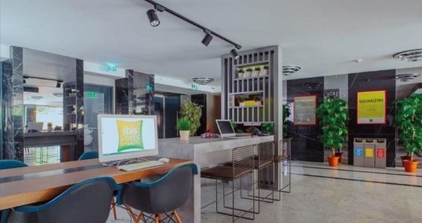 Ibis Styles İstanbul Bomonti Hotel'de çift kişilik 1 gece konaklama 289 TL! Fırsatın geçerlilik tarihi için DETAYLAR bölümünü inceleyiniz.