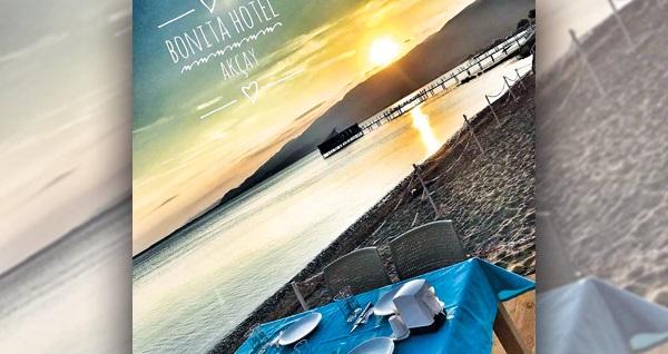 Bonita Hotel'de Kaz Dağları turu ve akşam canlı müzik dahil konaklama keyfi kişi başı