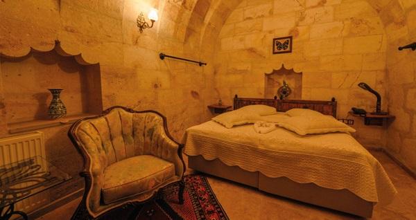 200 yıllık ihtişamıyla tarihi Kapadokya Vera Konak Hotel'de kahvaltı dahil çift kişilik 1 gece konaklama 250 TL yerine 169 TL! Fırsatın geçerlilik tarihi için, DETAYLAR bölümünü inceleyiniz.