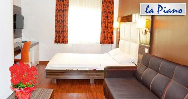 Şişli Hotel La Piano'da çift kişilik 1 gece konaklama 239 TL! Fırsatın geçerlilik tarihi için, DETAYLAR bölümünü inceleyiniz.