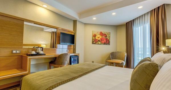Turgutlu Kaynesia Hotel Spa & Welness'da açık büfe kahvaltı dahil çift kişilik 1 gece konaklama 275 TL yerine 229 TL! Fırsatın geçerlilik tarihi için DETAYLAR bölümünü inceleyiniz.