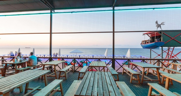 Mimar Sinan Güzel Sanatlar Üniversitesi Baykuş Plajı'nda yemek menüsü 100 TL yerine 69 TL! Fırsatın geçerlilik tarihi için DETAYLAR bölümünü inceleyiniz.
