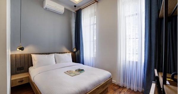Wings of Galata Otel'de tek veya çift kişilik 1 gece konaklama 159 TL! Fırsatın geçerlilik tarihi için DETAYLAR bölümünü inceleyiniz.