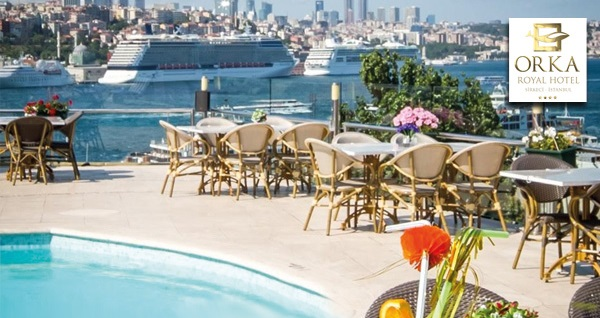 Sirkeci Orka Royal Hotel'de kahvaltı dahil tek veya çift kişilik 1 gece konaklama 269 TL! Fırsatın geçerlilik tarihi için DETAYLAR bölümünü inceleyiniz.