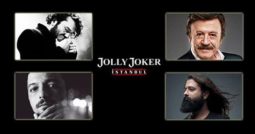 """Jolly Joker İstanbul Sahnesi'ndeki Ocak ve Şubat konserleri 29,90 TL'den başlayan fiyatlarla! Konser seçimi yapmak için """"HEMEN AL"""" butonuna tıklayınız."""
