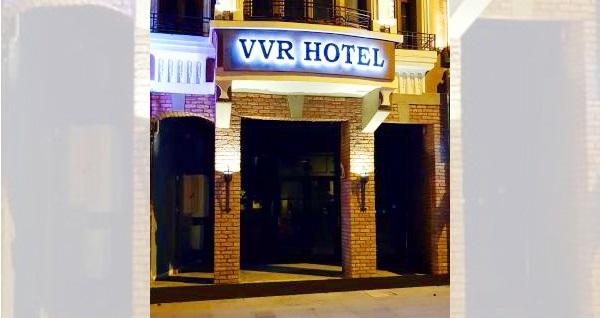 Şişli VVR Hotel'de açık büfe kahvaltı dahil çift kişilik 1 gece konaklama keyfi 299 TL! Fırsatın geçerlilik tarihi için DETAYLAR bölümünü inceleyiniz.