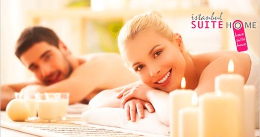 Osmanbey Suite Home Aliss Wellness Spa'da 50 dakika seçmeli masaj 109 TL yerine 59 TL! 30.11.2016 tarihine kadar haftanın her günü 10.00 - 21.00 saatleri arasında geçerlidir.