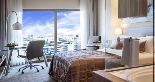 Gorrion Hotel İstanbul'da ıslak alan kullanımı dahil çift kişilik 1 gece konaklama 329 TL'den başlayan fiyatlarla! Fırsatın geçerlilik tarihi için DETAYLAR bölümünü inceleyiniz.