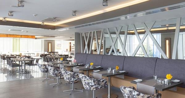 Ramada Hotel & Suites İzmir Kemalpaşa'da Cumartesi ve Pazar günlerine özel açık büfe kahvaltı kişi başı 29,90 TL! Fırsatın geçerlilik tarihi için, DETAYLAR bölümünü inceleyiniz.