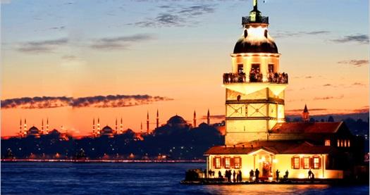 Kız Kulesi'nde tekne ulaşımı ve müze girişi dahil akşam yemeği 210 TL yerine 119 TL! Fırsatın geçerlilik tarihi için DETAYLAR bölümünü inceleyiniz. ÖZEL GÜNLER VE CUMARTESİ HARİÇ; haftanın diğer günleri geçerlidir. Yemek servisi 20.15 - 00.30 saatleri arasında yapılmaktadır.