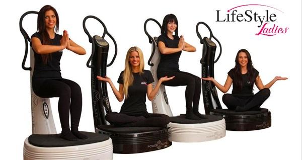LifeStyle Ladies Power Plate stüdyoda profesyonel eğitmenler eşliğinde 4 fonksiyonel Power Plate antrenmanı 149 TL yerine 49 TL! Fırsatın geçerlilik tarihi için DETAYLAR bölümünü inceleyiniz. Lifestyle Ladies Pazar günleri hariç, hafta içi 10.00-21.00 & Cumartesi günleri 10.00-17.00 saatleri arasında hizmet vermektedir.