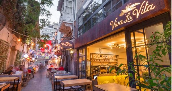 Konak Viva La Vita Hotel'de kahvaltı dahil çift kişilik 1 gece konaklama 210 TL yerine 135 TL! Fırsatın geçerlilik tarihi için, DETAYLAR bölümünü inceleyiniz.