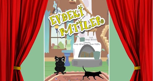 Küçük dostlarımızın hikayesi ''Evdeki Patiler'' adlı çocuk oyununa biletler 30 TL yerine 21 TL! 27 Ekim 2019 | 15:00 | İzmir Sanat Kültür Merkezi
