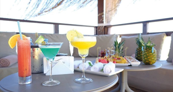 Concorde Luxury Resort'ta çift kişilik odalarda 2 gece Ultra Her Şey Dahil konaklama ve gidiş-dönüş uçak bileti kişi başı 1.299 TL'den başlayan fiyatlarla! Detaylı bilgi ve size en uygun fiyatların sunulması için hemen 0850 532 50 76 numaralı telefonu arayın!
