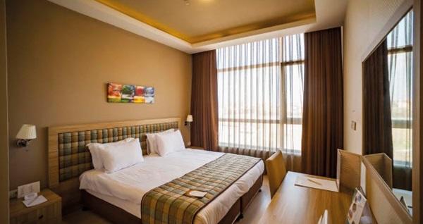 Ankara Akman TZOB Otel'de kahvaltı dahil çift kişilik 1 gece konaklama 209 TL! Fırsatın geçerlilik tarihi için DETAYLAR bölümünü inceleyiniz.