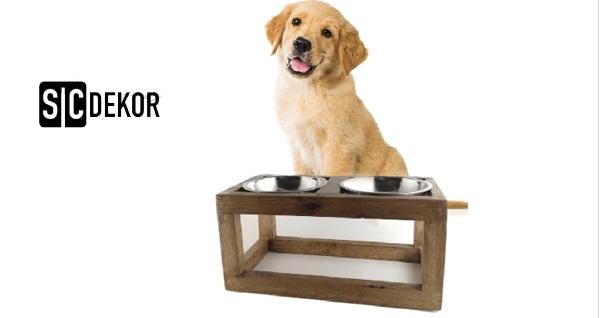 SC Dekor'da evcil hayvanlarınıza özel pet mobilyası, mama kabı, kedi ve köpek yatağı! Fırsatın geçerlilik tarihi için DETAYLAR bölümünü inceleyiniz.