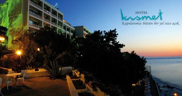 Kısmet Hotel Kuşadası'nda deniz manzaralı odalarda kahvaltı dahil çift kişilik 1 gece konaklama 199 TL! Fırsatın geçerlilik tarihi için, DETAYLAR bölümünü inceleyiniz.
