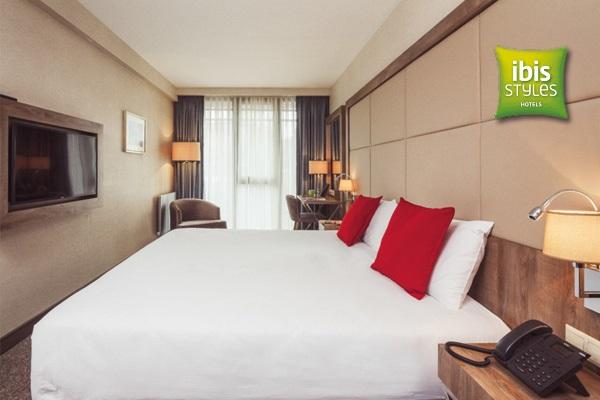 Ibis Styles İstanbul Bomonti Hotel'de kahvaltı dahil çift kişilik 1 gece konaklama 249 TL! Fırsatın geçerlilik tarihi için, DETAYLAR bölümünü inceleyiniz.