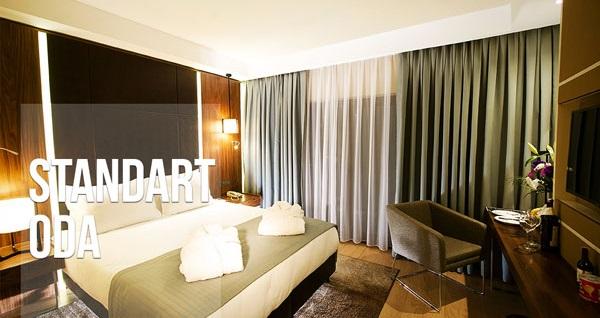 Ramada Encore Istanbul Airport Hotel'de çift kişilik 1 gece konaklama 450 TL yerine 189 TL! Fırsatın geçerlilik tarihi için, DETAYLAR bölümünü inceleyiniz.