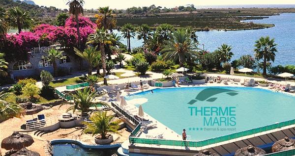 Thermemaris Thermal & Spa Resort Otel'de çift kişilik 1 gece YARIM PANSİYON konaklama ve SPA keyfi