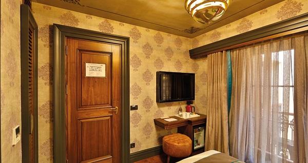 Sanat Hotel Pera'da açık büfe kahvaltı dahil çift kişilik 1 gece konaklama 349 TL! Fırsatın geçerlilik tarihi için DETAYLAR bölümünü inceleyiniz.