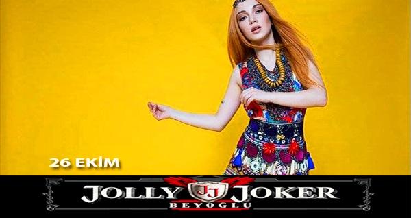26 Ekim'de Jolly Joker Beyoğlu Sahnesi'nde gerçekleşecek Ece Seçkin konserine AYAKTA biletler 34,90 TL! 26 Ekim 2018 | 22:00 | Jolly Joker Beyoğlu Sahnesi