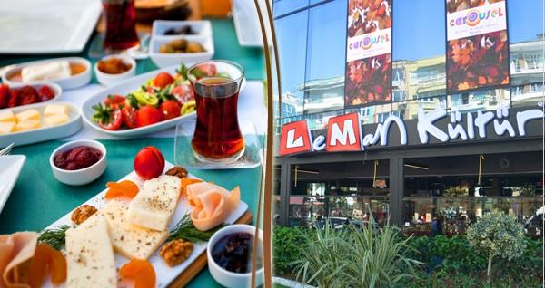 Leman Kültür Bakırköy'de zengin serpme kahvaltı 28,50 TL! Fırsatın geçerlilik tarihi için DETAYLAR bölümünü inceleyiniz.
