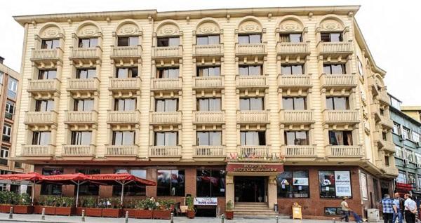 Laleli Büyük Hamit Hotel'de kahvaltı dahil çift kişilik 1 gece konaklama 199 TL! Fırsatın geçerlilik tarihi için, DETAYLAR bölümünü inceleyiniz.