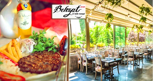 Oran Behzat Et Balık Mangal'ın leziz iftar menüsü kişi başı 59 TL! 16 Mayıs 2018-14 Haziran 2018 tarihleri arasında, iftar saatinde geçerlidir.