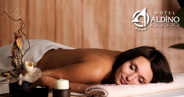 Tunalı Hilmi Caddesi Aldino Hotel Talisma Spa'da 60 dakika klasik masaj keyfi ve sauna kullanımı 180 TL yerine 99,90 TL! Fırsatın geçerlilik tarihi için DETAYLAR bölümünü inceleyiniz.