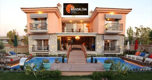Alaçatı Mandalina Hotel'de çift kişilik 1 gece konaklama 190 TL yerine 149 TL! Fırsatın geçerlilik tarihi için, DETAYLAR bölümünü inceleyiniz.