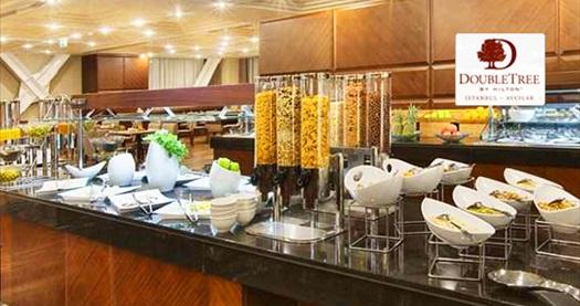 DoubleTree by Hilton Avcılar'da Anneler Günü'ne özel enfes açık büfe geç kahvaltı keyfi 59 TL! 14 Mayıs 2017 | 11:00- 14:00 | DoubleTree by Hilton Avcılar