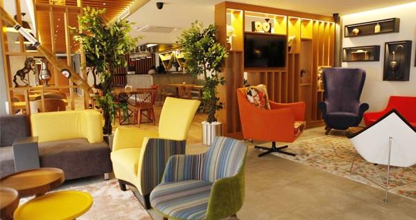 Küçükçekmece Sapko Airport Hotel'de kahvaltı dahil çift kişilik 1 gece konaklama keyfi 259 TL! Fırsatın geçerlilik tarihi için, DETAYLAR bölümünü inceleyiniz.