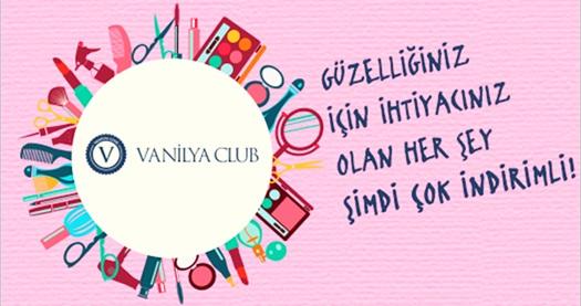 Vanilya Club'ın kozmetik dünyasının en iyi ürünlerinde size özel fırsatlarını kaçırmayın! Fırsatın geçerlilik tarihi için, DETAYLAR bölümünü inceleyiniz.