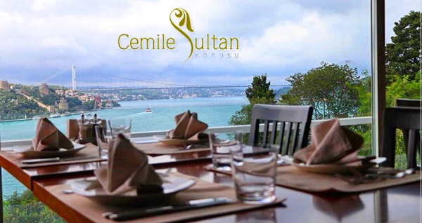 Cemile Sultan'da Boğaz manzarası eşliğinde zengin içerikli Alakart menü 54,90 TL! Fırsatın geçerlilik tarihi için DETAYLAR bölümünü inceleyiniz.