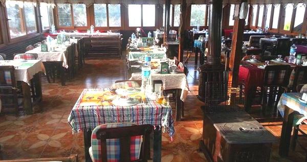 Çiçekliköy Yeni Asmalı Kahvaltı Evi'nde doğa ile iç içe ızgara mangal menüsü 29,90 TL! Fırsatın geçerlilik tarihi için DETAYLAR bölümünü inceleyiniz.