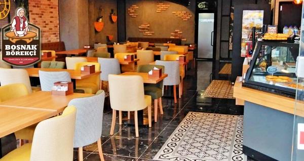 Ataşehir Boşnak Börekçisi'nde zengin içerikli serpme kahvaltı 55 TL yerine 35 TL! Fırsatın geçerlilik tarihi için, DETAYLAR bölümünü inceleyiniz.
