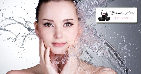 Yasemin Miras Beauty Salon Nişantaşı şubesinde geçerli hydrafacial cilt bakımı uygulaması 1000 TL yerine 129 TL! Fırsatın geçerlilik tarihi için DETAYLAR bölümünü inceleyiniz.
