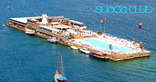 Suada Club Aslan Restaurant'ta Ege Lezzetlerinden oluşan akşam yemeği 140 TL yerine 70 TL! 30 Ekim 2014 tarihine kadar geçerlidir.