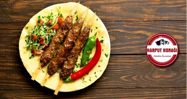 Ankara Hacı Bayram Harput Konağı'nda kebap menüleri 45 TL yerine 32 TL! Fırsatın geçerlilik tarihi için DETAYLAR bölümünü inceleyiniz.