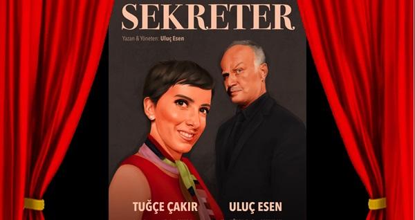 Sekreter oyununa biletler 40 TL yerine 28 TL! 14 Aralık 2019 | 20:30 | İzmir Nazım Hikmet Kültür Merkezi (Konak Halk Sahnesi)