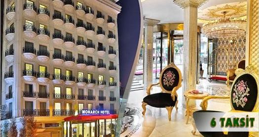 Şişli White Monarch Hotel'de kahvaltı dahil çift kişilik 1 gece konaklama keyfi 200 TL yerine 129 TL! 29 Aralık 2016 tarihine kadar, haftanın her günü geçerlidir.