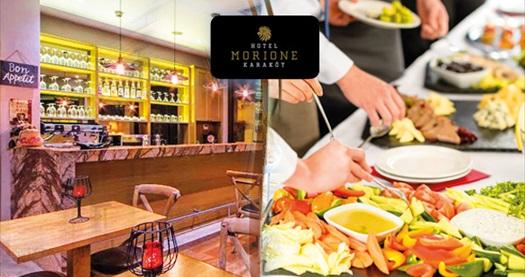 Karaköy Morione Hotel LaMaritza Bar'da açık büfe kahvaltı keyfi 39 TL yerine 19,90 TL! Fırsatın geçerlilik tarihi için DETAYLAR bölümünü inceleyiniz.