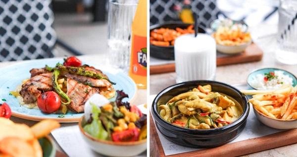 Buca İstişare Cafe'de happy hour'a özel öğle yemeği menüsü seçenekleri (kişi başı) 34,90 TL! Fırsatın geçerlilik tarihi için, DETAYLAR bölümünü inceleyiniz.