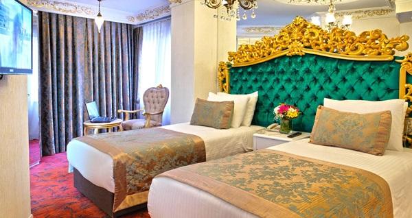 Şişli White Monarch Hotel'de çift kişilik 1 gece konaklama  269 TL yerine 219 TL! Fırsatın geçerlilik tarihi için DETAYLAR bölümünü inceleyiniz.