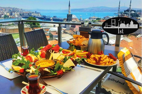 Süleymaniye Yeditepe Teras Cafe'de İstanbul manzarasına nazır enfes Diyarbakır köy kahvaltısı kişi başı 24,90 TL! Fırsatın geçerlilik tarihi için DETAYLAR bölümünü inceleyiniz.